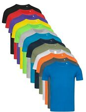 Hanes Mens Plain Slim Fitted Fit-T Cotton Tshirt Tee T-Shirt ref 5500