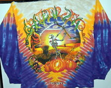 "GRATEFUL DEAD ""HARVESTER"" FALL TOUR 94 2-SIDED LONG SLEEVE TIE DYE T-SHIRT NEW"