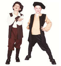 RENAISSANCE BOY COSTUME PEASANT MEDIEVAL CHILD SHAKESPEARE PLAY COSTUMES 90313