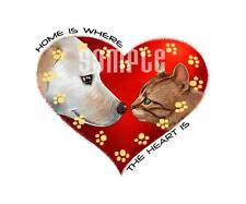 Dog & Cat Heart Tshirts or Nightshirt #9489 pet love home is where your heart is