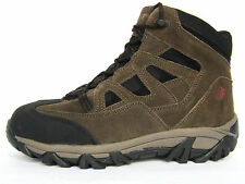 Wolverine Mid  Steel Toe  EH Mens Work Safety Hiking/Trail  Brownn Nubuck Boots