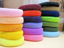 3 X  Soft Cotton Elastic Hair Tie Hair Rope Girl Head bands ~Large Size~