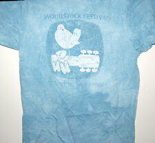 """WOODSTOCK FESTIVAL 1969 """"VINTAGE DOVE"""" T-SHIRT NEW 3 DAYS OF PEACE & MUSIC"""