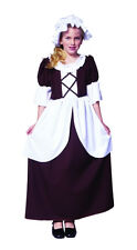 COLONIAL GIRL COSTUME CHILD PEASANT PILGRIM PIONEER PRAIRIE COSTUMES 91130