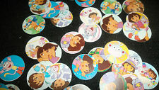 Pre Cut One Inch DORA BOTTLE CAP IMAGES!  MUST SEE
