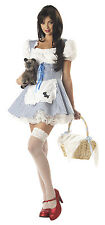 Adult Sexy Wizard Of Oz Dorothy Outfit Costume Halloween