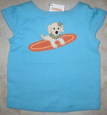 NWT Gymboree Tropical Bloom Surfing Dog Tee Top U Pick SIze NEW