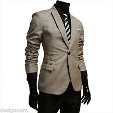 THELEES Mens Casual Stunning slim fit Jacket Blazer Coat COLLECTION