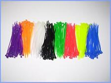 100pcs Cable tie zip lock 2.2 x 100mm ~ 4 in with 9 color buy 2 get 1 free