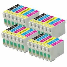24 Ink Cartridges non-OEM to replace T0801 T0802 T0803 T0804 T0805 T0806 (T0807)
