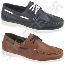 MENS BOAT SHOES BOYS CASUAL DECK LOAFERS MOCASSIN SMART SHOE SIZE 7 8 9 10 11 12