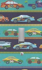 Light Switch Plate Switchplate & Outlet Covers BOYS ROOM ~ COLORFUL CARS TRUCKS