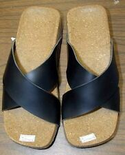NEW Boutique Comfort Cork X-Strap Sandals Vegan Friendly Pink Black Yellow Etc.