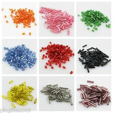 Jewelry Making 1000pcs 2X3mm/500pcs 2X7mm Tube Czech Glass Spacer Beads U Pick
