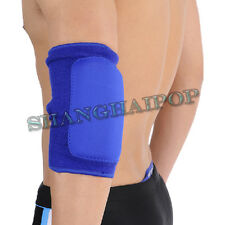 Blue/Red Elbow Pad Protector Support Guard Arm Padded Sports Tennis Volleyball