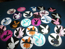 Pre Cut PLAYBOY BUNNY One Inch Bottle Cap Images! FREE SHIP