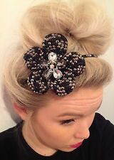 Diamante Crystal Rhinestone Flower Alice Hair Head Band