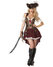 Adult Sexy Swashbuckler Pirate Costume Halloween