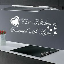 FUNNY KITCHEN DINING ROOM QUOTE SAYING GRAPHIC KIDS WALL ART DECAL STICKER VINYL