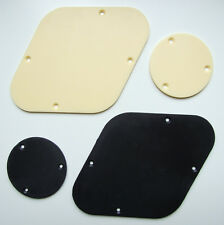 Control & switch cavity / rear / back covers for Les Paul type electric guitar