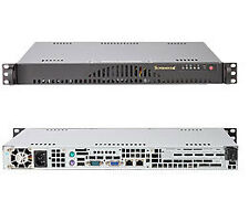 SuperMicro Server 1U 512L-200B/X9SCL-F/E3-1220 Xeon quad core / 4GB Ram/ SSD