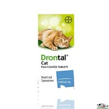 Drontal for Cats - Guaranteed Original Bayer (Germany) - FREE WORLDWIDE SHIPPING