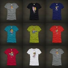 Hollister Womens Graphic Tee T Shirt Top Multi Styles/Colors by Abercrombie NWT