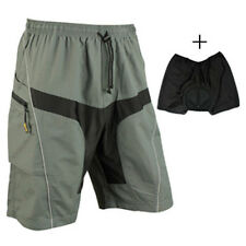Ultra Comfort MTB Mountain Bike Baggy Shorts with Lycra Padded Liner Trail Pants