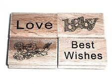 CHOOSE A TYPE IN 2 CRAFT WOODEN RUBBER STAMP STAMPING CRAFTS CARDMAKING SEE SHOP