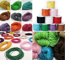 10m of Wax Cotton Cord, Choose your own Colour!, Postage Discounts Available!