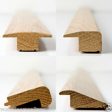 Solid wood floor trims 2.9m -  Threshold, Reducer, End Profile, Stair nosing