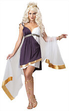Adult Sexy Venus Goddess of Love Roman Greek Toga Costume Halloween