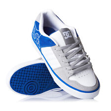 Scarpe Uomo Dc Shoes Chase White / Royal Blue Zapatos Schuhe chaussures