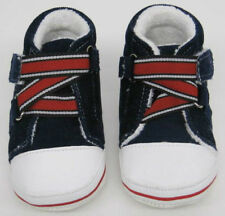 Baby First Shoes Boots Trainers New Navy White Red  wholesale 10 pair job  lot
