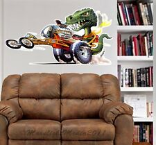 Dragon Dragster Race Car Dave Deal WALL GRAPHIC FAT DECAL MAN CAVE MURAL 4190