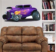 30's Custom Hot Rod Deuce Coupe WALL GRAPHIC FAT DECAL MAN CAVE MURAL 5001