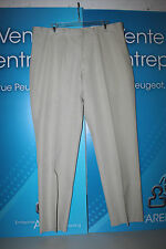 KENNETH COLE NEW YORK PINCORD TAN PANTS MSRP $100 FLAT FRONT