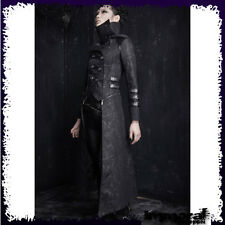 PUNK RAVE ZIP OFF TRENCH COAT - PUNK/GOTHIC/BLACK/JACKET - UNISEX
