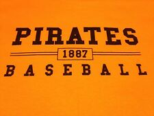 Pittsburgh Pirates 1887 BRIGHT GOLD T Shirt NEW PNC Park SGA 9/28/12