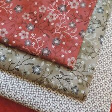 Quilters Basic Collection - 100% Cotton Fabric for Patchwork, Quilting & Sewing