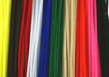 "12"" / 30cm Chenille Craft Stems Pipe Cleaners - Choice of Colours and Pack Size"