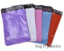 BLUE PINK PURPLE RED WHITE MAILING BAGS POSTAL SACKS ENVELOPES MAIL POST BAG
