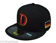 NEW ERA 59FIFTY WBC FITTED CAP GERMANY WORLD BASEBALL CLASSIC 2013 SEASON HAT
