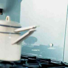 Clear Glass Splashbacks in any size and Upstands and glass tiles