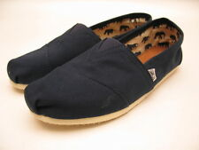 MENS TOMS CLASSIC CANVAS SLIP ON NAVY
