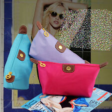 Hot Woman's Nylon Beauty Cosmetic Case Makeup Take Mp3 Phone New Brand Bag PA04y