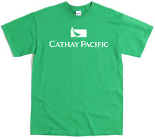 Cathay Pacific T-Shirt Screenprint  Airlines Airways Aviation Cabin Crew Pilot