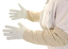 Beekeepers Bee Gloves White soft leather - All sizes