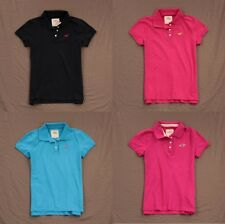 Hollister Womens Polo Shirt Short Sleeve Top by Abercrombie & Fitch NWT!