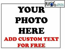 * CUSTOM IRON ON T SHIRT TRANSFER *ANY PHOTO & CUSTOM TEXT FOR SPORTS WEAR   *